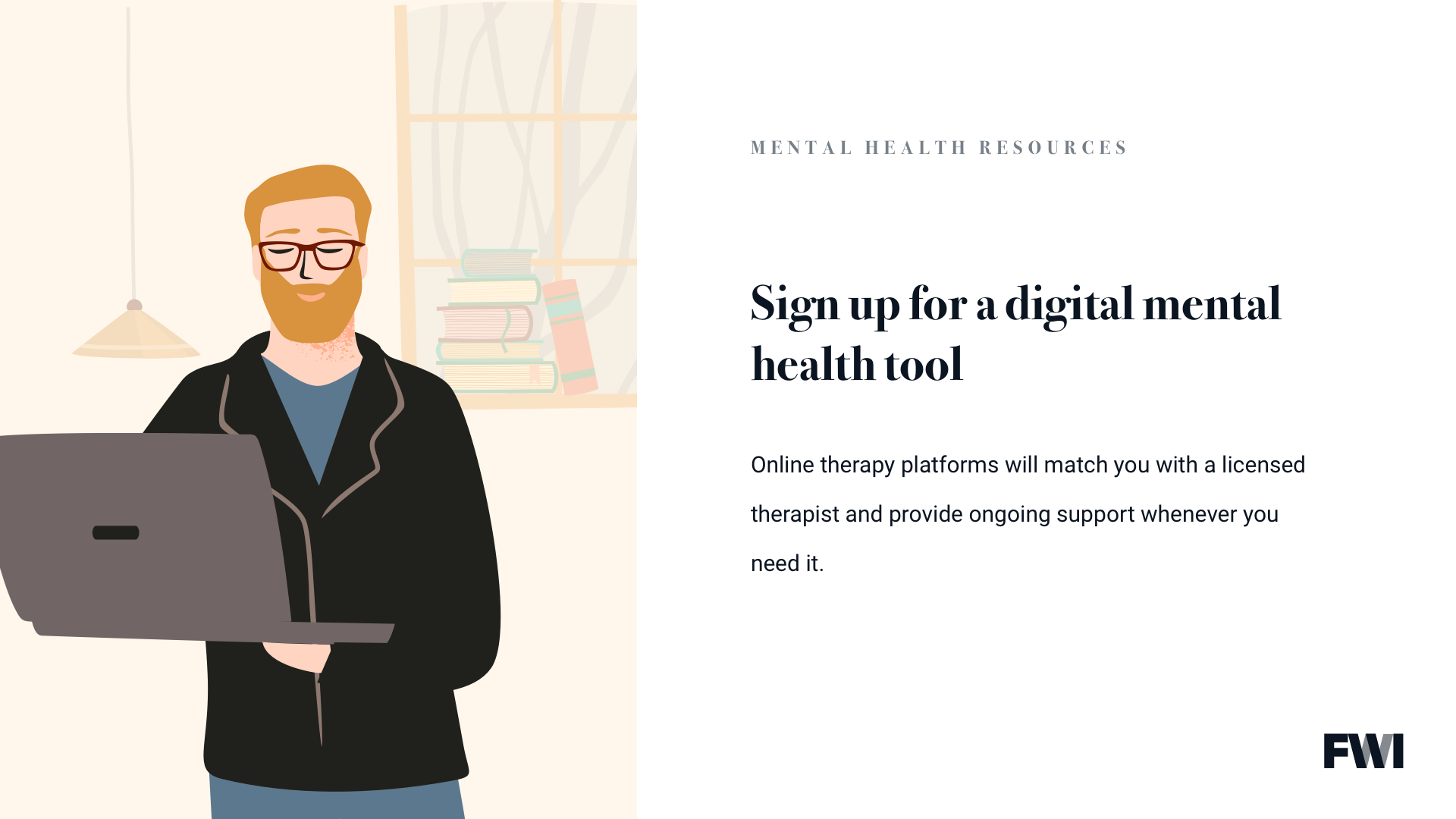 sign up for digital mental health tool horizontal content download