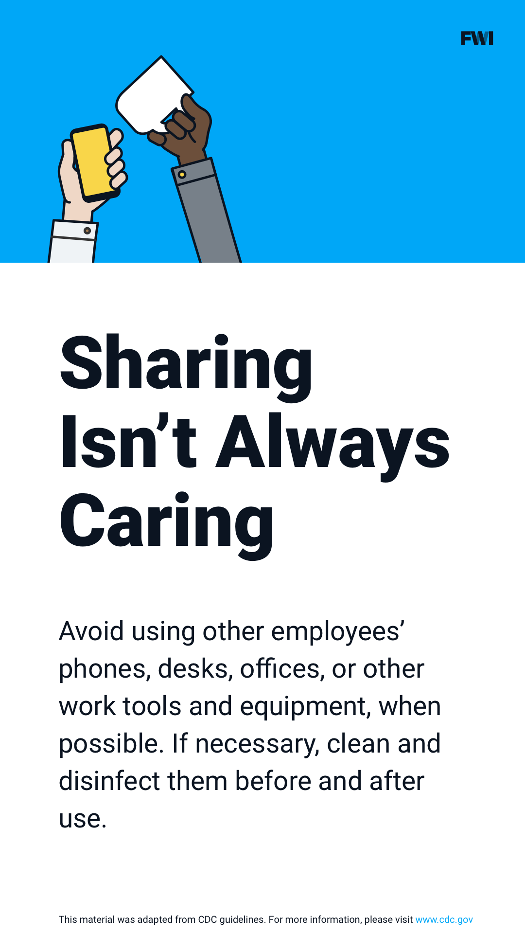 Don't share items vertical content download
