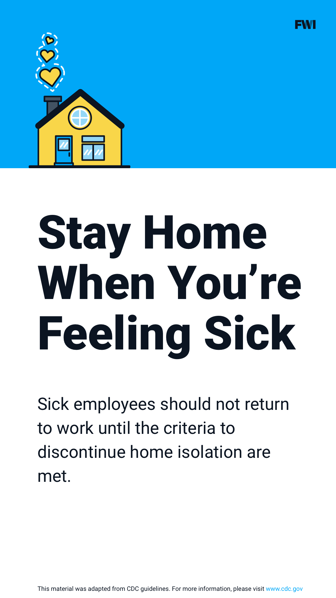 stay home if sick vertical content download