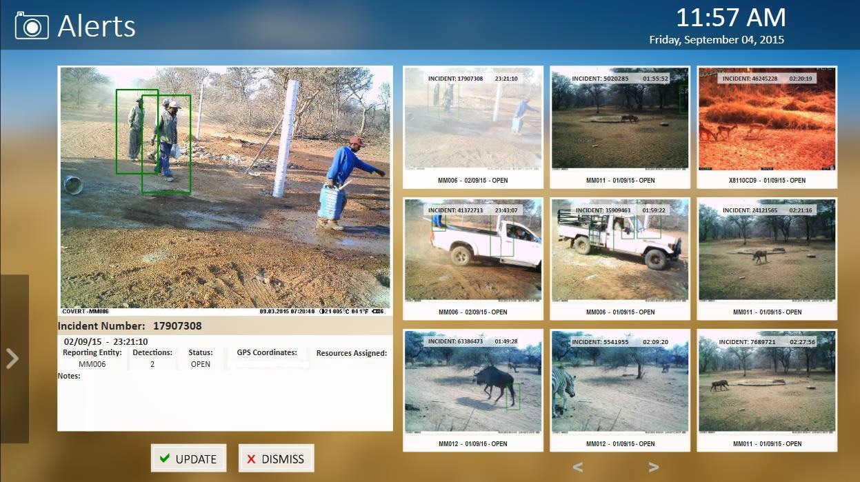 wildlife protection solutions digital signs to observe wildlife